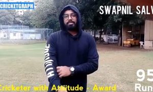 swapnil salvi cricketer