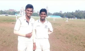 Vedant Murkar smashes a fiery 71 while Aaradhya bags 5wkts for Kirti College in the DSO under 19 Tournament