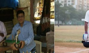 Alpesh Ramjani and Aditya Dhumal display their batting prowess vs Dadar Union in the Police Shield Tournament