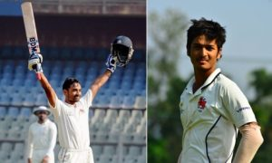 Ashay Sardesai scores an attacking 135 while Nikhil Patil scores a solid 100 vs CCI in the Kanga League 2017