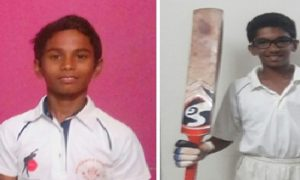 Rishi and Pratik steer their team, SVIS Kandivali to comfortable win in their first Harris Shield match