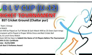 R.L.V. Cup U-12 Cricket Tournament 2017 Delhi