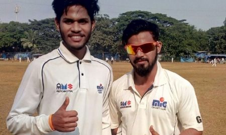 Srujan & Gaurav hit big tons to steer Parel SC to a dominating win in the Purshottam Shield Tournament '17
