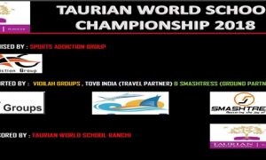 Taurian World School Cricket Championship 2018 Ranchi