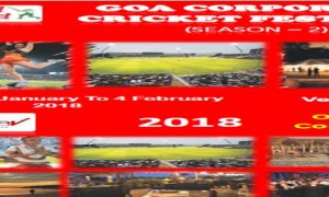 Goa Corporate Cricket Tournament Festival-2018 Season 2