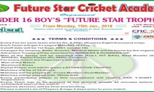 Future Star Trophy Cricket Tournament U-16 Mumbai